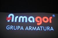 Litery przestrzenne Armagor