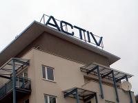 Litery przestrzenne ACTIV - Kraków