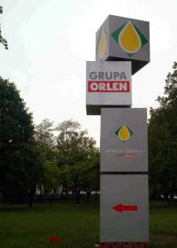 Reklama zewnętrzna Grupa Orlen