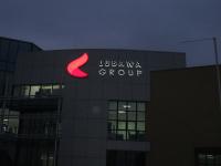 Litery przestrzenne Lubawa Group