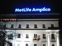 Litery przestrzenne MetLife Amplico