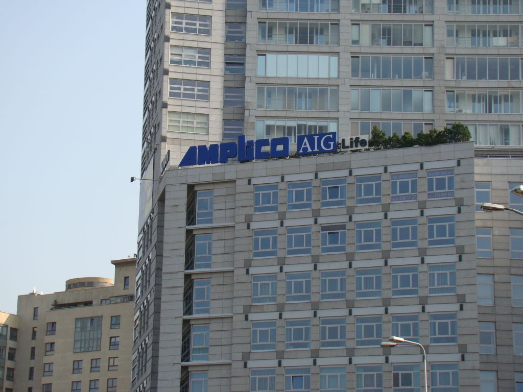 Litery przestrzenne Amplico AIG Life
