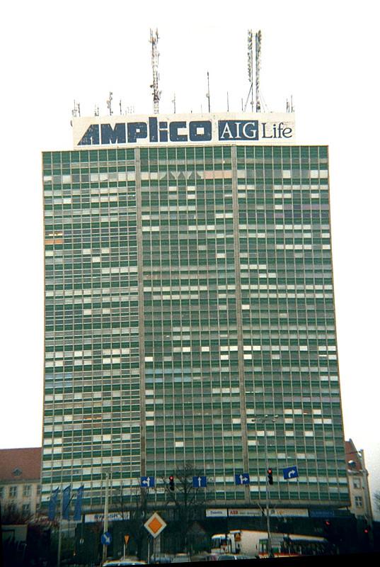Oznakowanie firm Amplico AIG Life
