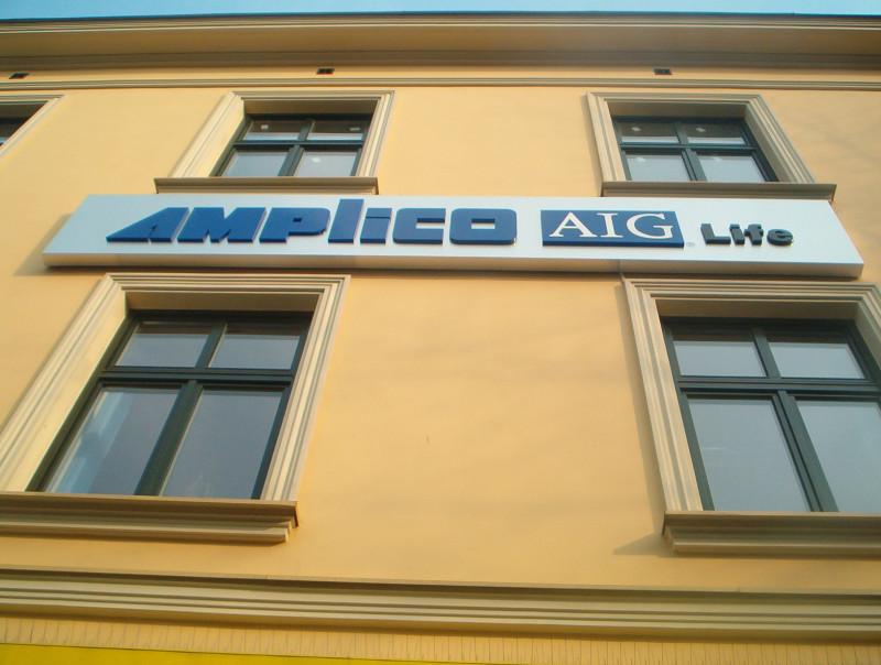 Kasetony świetlne Amplico AIG Life Płock