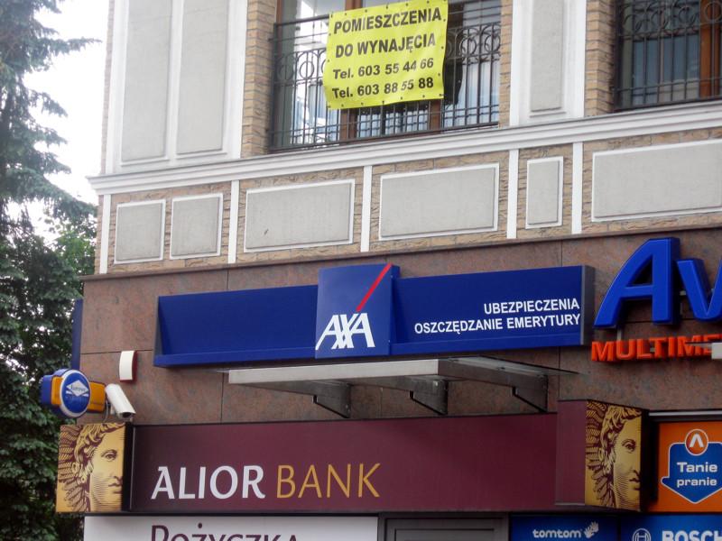 Oznakowanie firm AXA