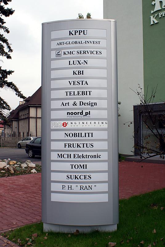 Pylony KPPU Kraków