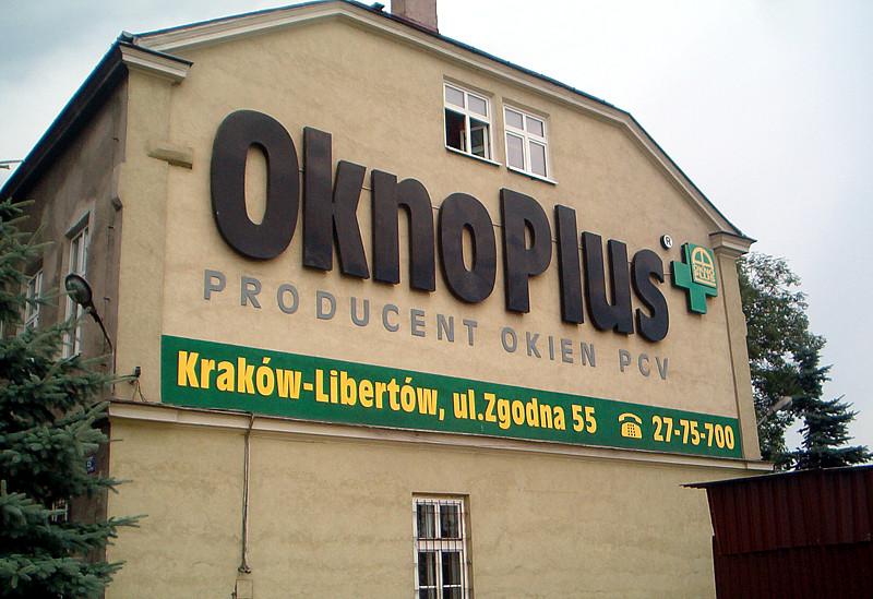 Reklama zewnętrzna OknoPlus