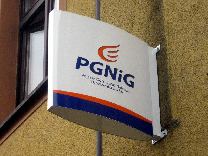 Plafon reklamowy PGNiG