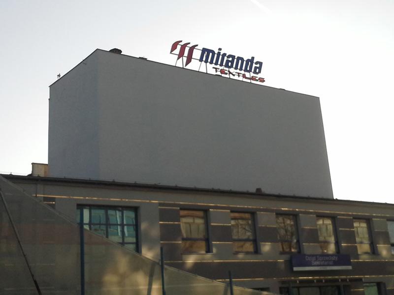 Litery przestrzenne Miranda Textilies