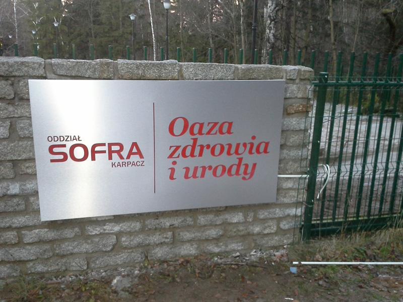 Oznakowanie firm Sofra