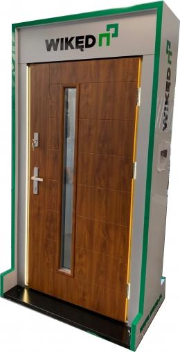 Ekspozytor - drzwi